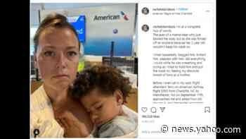 Mask dispute involving 2 year old gets mom kicked off flight from Charlotte, she says
