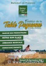 1ère édition de la table paysanne samedi 26 septembre 2020 - Unidivers