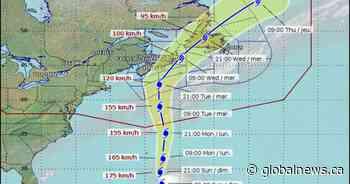 Nova Scotia coastline expected to get 10-metre waves from hurricane Teddy
