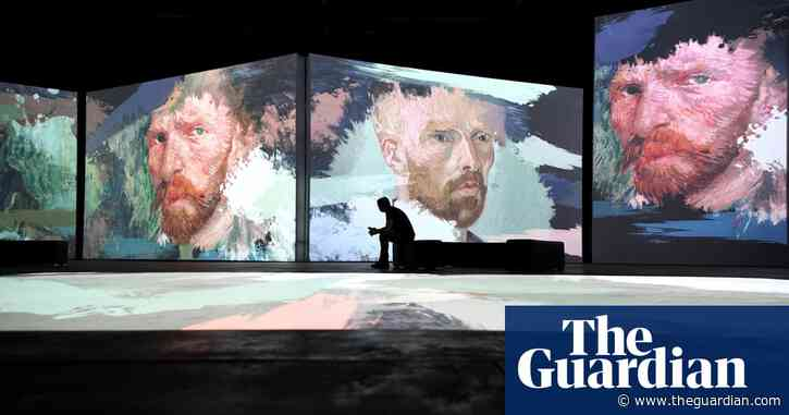 Van Gogh Alive! review – resurrecting the dead in a glossy, impersonal blockbuster
