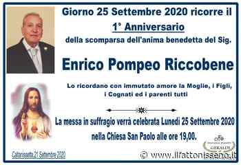 Enrico Pompeo Riccobene - il Fatto Nisseno