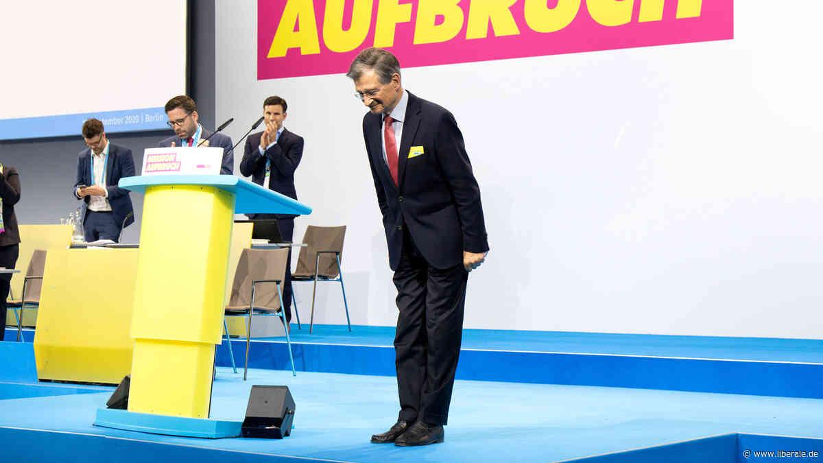 Bundesparteitag: Hermann Otto Solms zum Ehrenvorsitzenden der Freien Demokraten gewählt - Portal Liberal