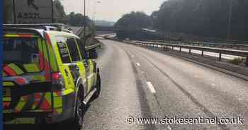 Recap: A500 reopens following serious accident - Stoke-on-Trent Live