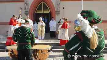 500 Jahre Pfarrkirche Hofheim: Weihbischof blickt zurück - Main-Post