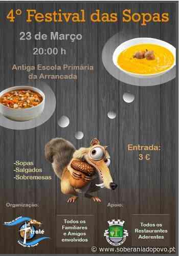 VALONGO DO VOUGA | 4.º Festival das Sopas no sábado - Soberania do Povo