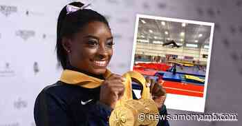 Here's How Simone Biles Celebrated National Gymnastics Day — See the Surprise Video She Shared - AmoMama