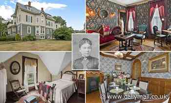 Massachusetts home where suspected ax murderer Lizzie Borden lived out her final days hits market