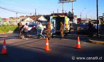 Mujer fue atropellada por un vehículo en Concepción - Canal 9 Bío Bío Televisión