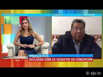 Concepción se declara zona de desastre, el incendio en Copaibo lleva activo 42 días - eju.tv