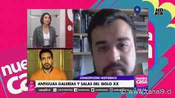 Concepción Histórico: Galerías y salas de arte del siglo XX - Canal 9 Bío Bío Televisión