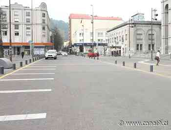 Tres calles del centro de Concepción tendrán ciclovías temporales - Canal 9 Bío Bío Televisión