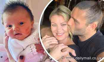 Billi Mucklow and fiancé Andy Carroll name newborn daughter Marvel Mae