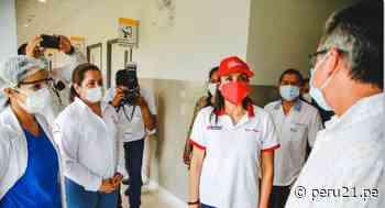 Titular del Midis supervisó atención sanitaria contra el COVID-19 en la región San Martín - Diario Perú21