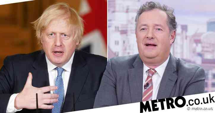 Piers Morgan hits out at 'sickeningly shameless' Boris Johnson over coronavirus address
