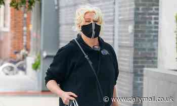 Deborra-Lee Furness picks up some prime meat for dinner with husband Hugh Jackman