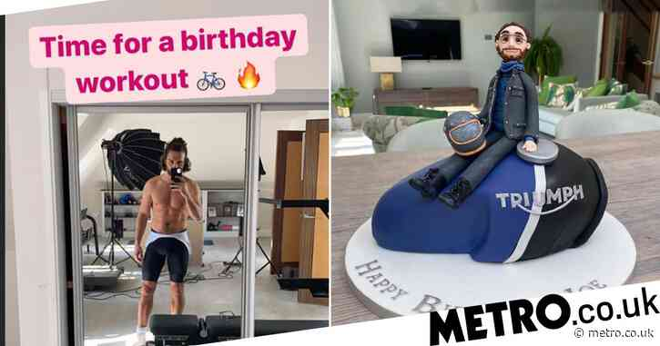 Joe Wicks stays on-brand for 35th birthday with workout before indulging in cake and cocktails