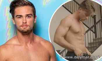 Love Island USA star Noah Purvis FIRED by CBS after fans accuse him of being a gay porn star
