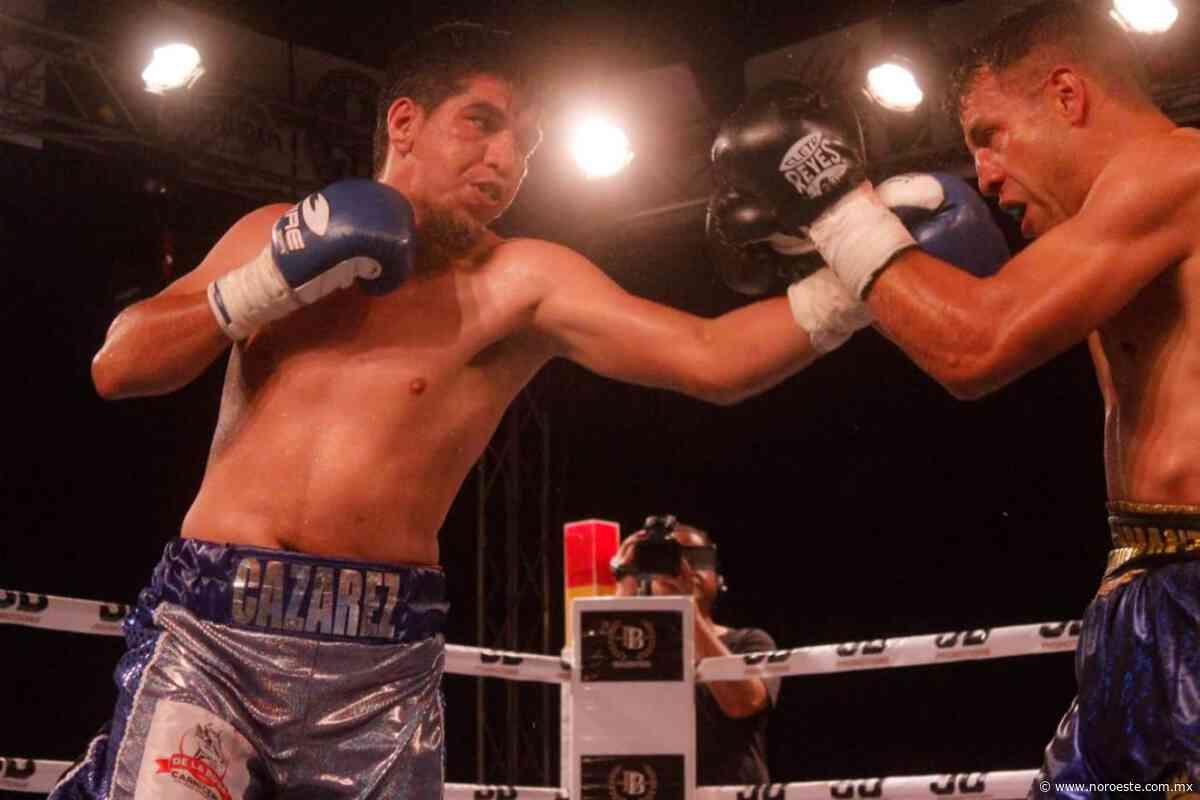 El boxeador culiacanense Rosario Cazarez se siente motivado por pelea titulr - Noroeste