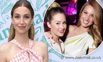 Whitney Port admits to The Hills co-star Lauren Conrad she felt 'insecure' about their friendship