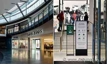David Jones to close up to TEN branches as the department store struggles amid coronavirus pandemic