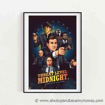 The Office Threat Level Midnight Inspired Poster