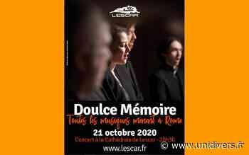 Concert classique: « toutes les musiques mènent à Rome » mercredi 21 octobre 2020 - Unidivers