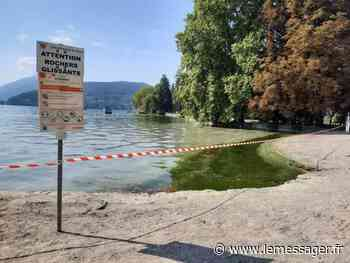 Annecy-le-Vieux : baignade interdite à Albigny à cause de matières fécales - Le Messager