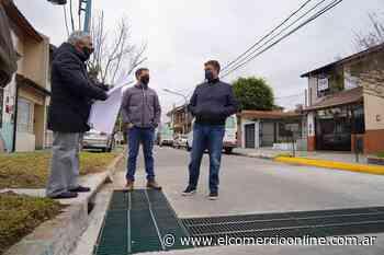 Vicente López realizó obras prevenir inundaciones en Florida Oeste - elcomercioonline.com.ar