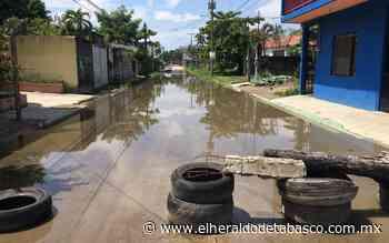 Debido a lluvias, cierran vialidades en Paraíso - El Heraldo de Tabasco