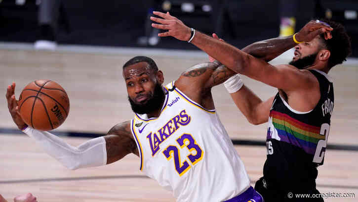 Lakers make a late charge, but can't catch Nuggets in Game 3