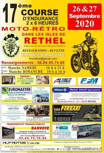 17e Course d'endurance moto-rétro samedi 26 septembre 2020 - Unidivers