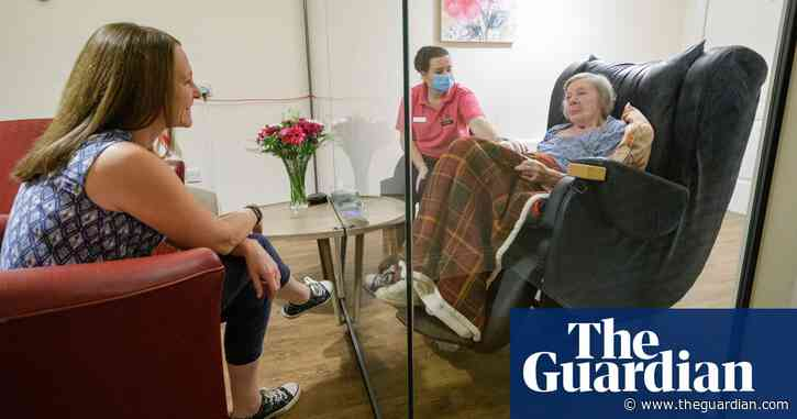 Relatives invited to move into care homes in England amid Covid lockdowns