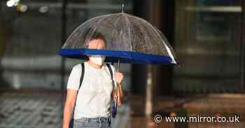 Big autumn chill as summer highs replaced with freezing air and blustery rain