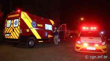 Rapaz é alvejado com três tiros no Núcleo Pitangui, em Ponta Grossa - CGN