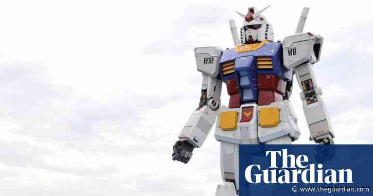 Big in Japan: giant Gundam robot makes its first moves in Yokohama