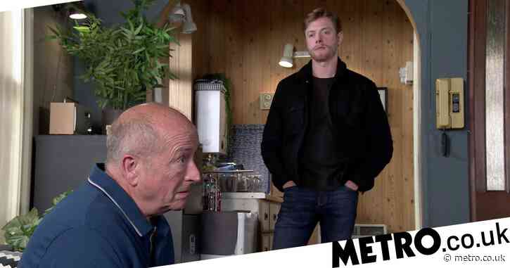 Coronation Street spoilers: Geoff Metcalfe seethes as Daniel Osbourne brutally attacks him