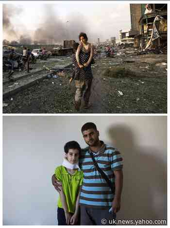 'The port came to us': Story behind AP photo of Beirut blast