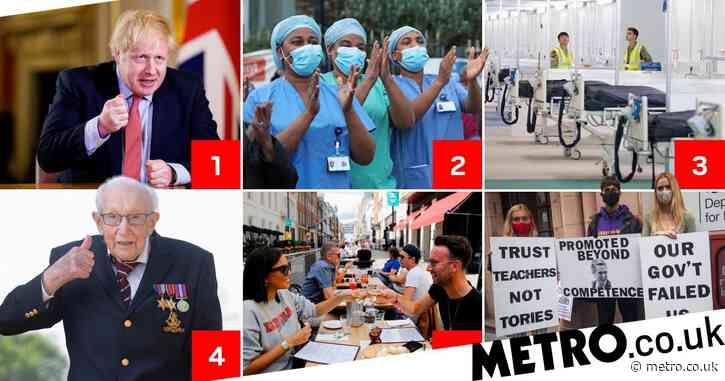 The key events that have changed the UK in the six months since lockdown hit