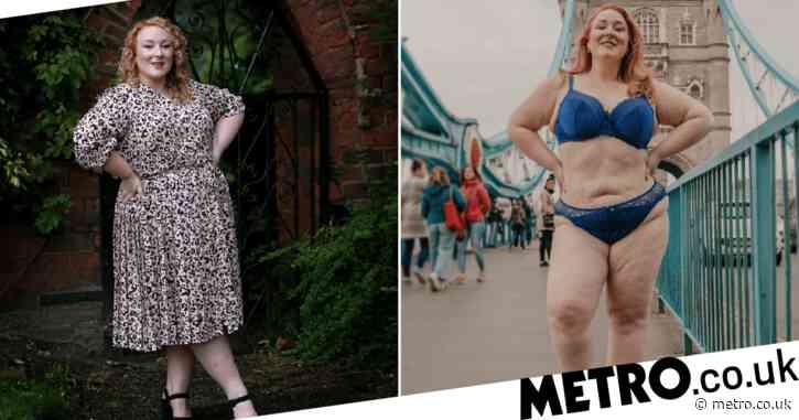 Woman overcomes binge eating disorder and body dysmorphia to walk across Tower Bridge in her underwear
