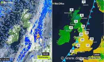 When it rains, it POURS! Curfew-hit Britons wake to a drenching