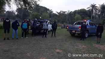 Ocho detenidos por violar la cuarentena en Ayolas - Nacionales - ABC Color