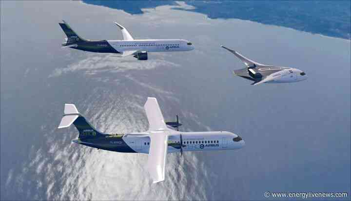 Airbus unveils designs for 'world's first' zero-emission commercial jet