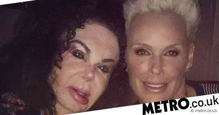 Brigitte Nielsen pays tribute to 'unique' former mother-in-law as Jackie Stallone dies aged 98