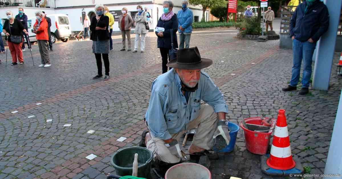 Weitere Stolpersteine in Laubach verlegt - Gießener Anzeiger