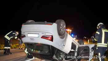 Trostberg: Alkofahrerin (23) überschlägt sich mit Auto auf der TS51 - chiemgau24.de