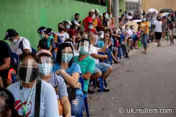 Philippines records 2,833 new coronavirus cases, 44 more deaths - Reuters UK