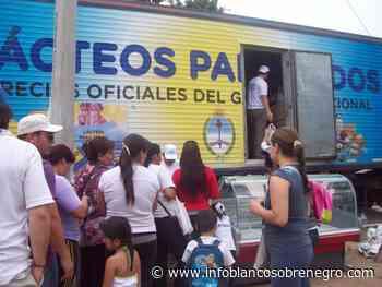 """Detuvieron un camión de """"Pastas y Lácteos para Todos"""" en Olavarria - Infoblancosobrenegro"""