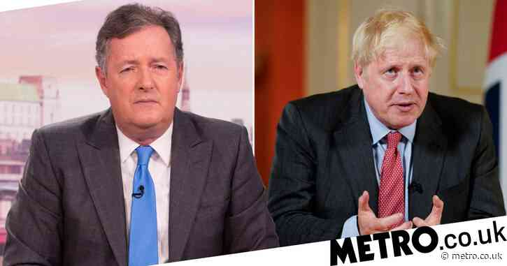 Piers Morgan hits out at Boris Johnson 'brass neck' for claiming lockdown success: 'He knows he got it wrong'