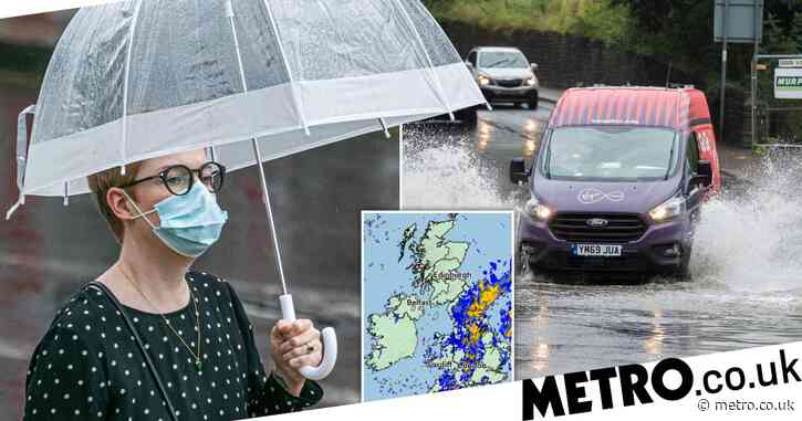 Summer is definitely over as temperatures plummet and rain batters UK
