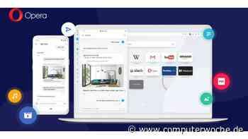 Opera: Neue Sync-Funktion zwischen Desktop und Handy